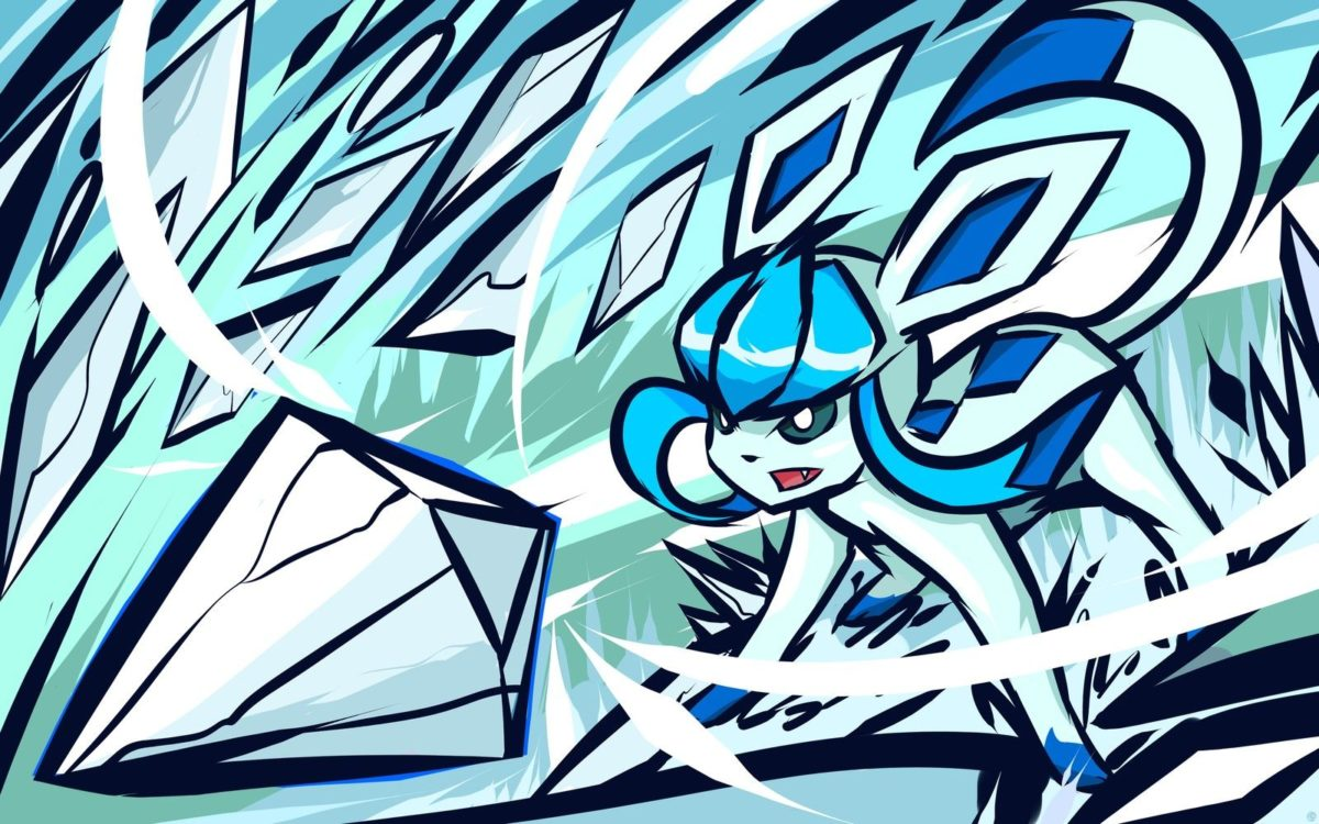 ishmam, Pokémon, Glaceon, Shiny Glaceon Wallpapers HD / Desktop …