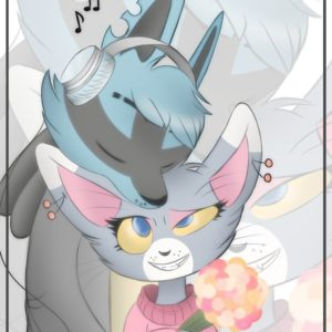 download Lucario and Glameow by ErmineDev on DeviantArt