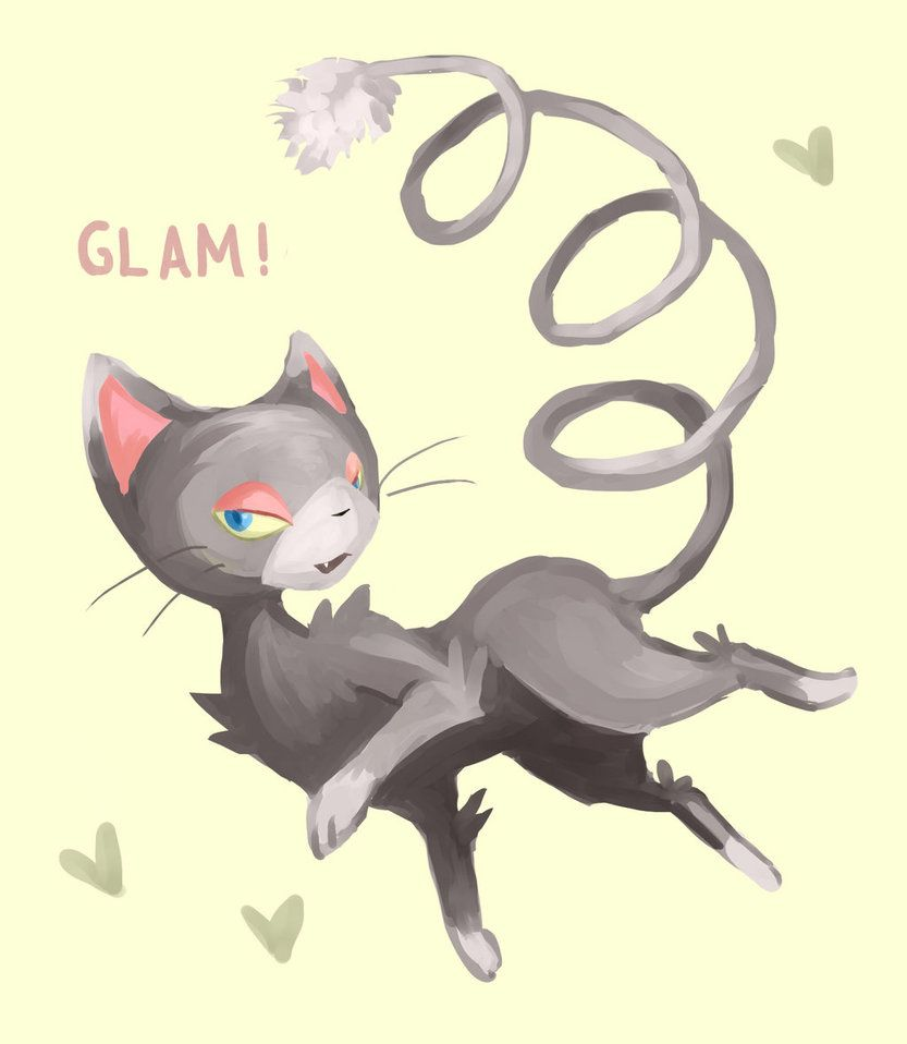 Glameow by Trexia on DeviantArt