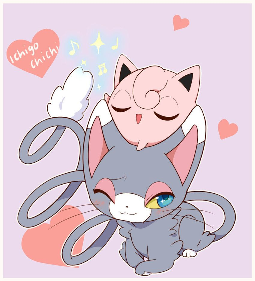 Glameow and Jigglypuff – Jiggly Concert by Ichigochichi on DeviantArt