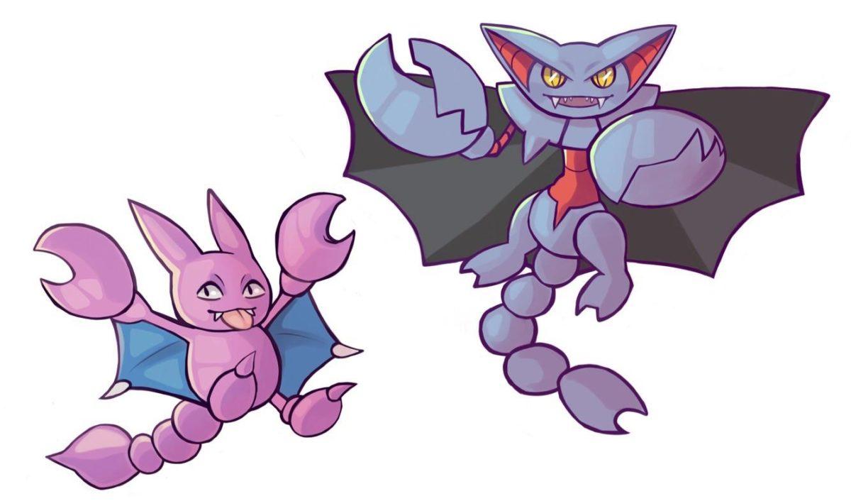 oc art] gligar and gliscor! : pokemon