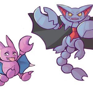 download oc art] gligar and gliscor! : pokemon