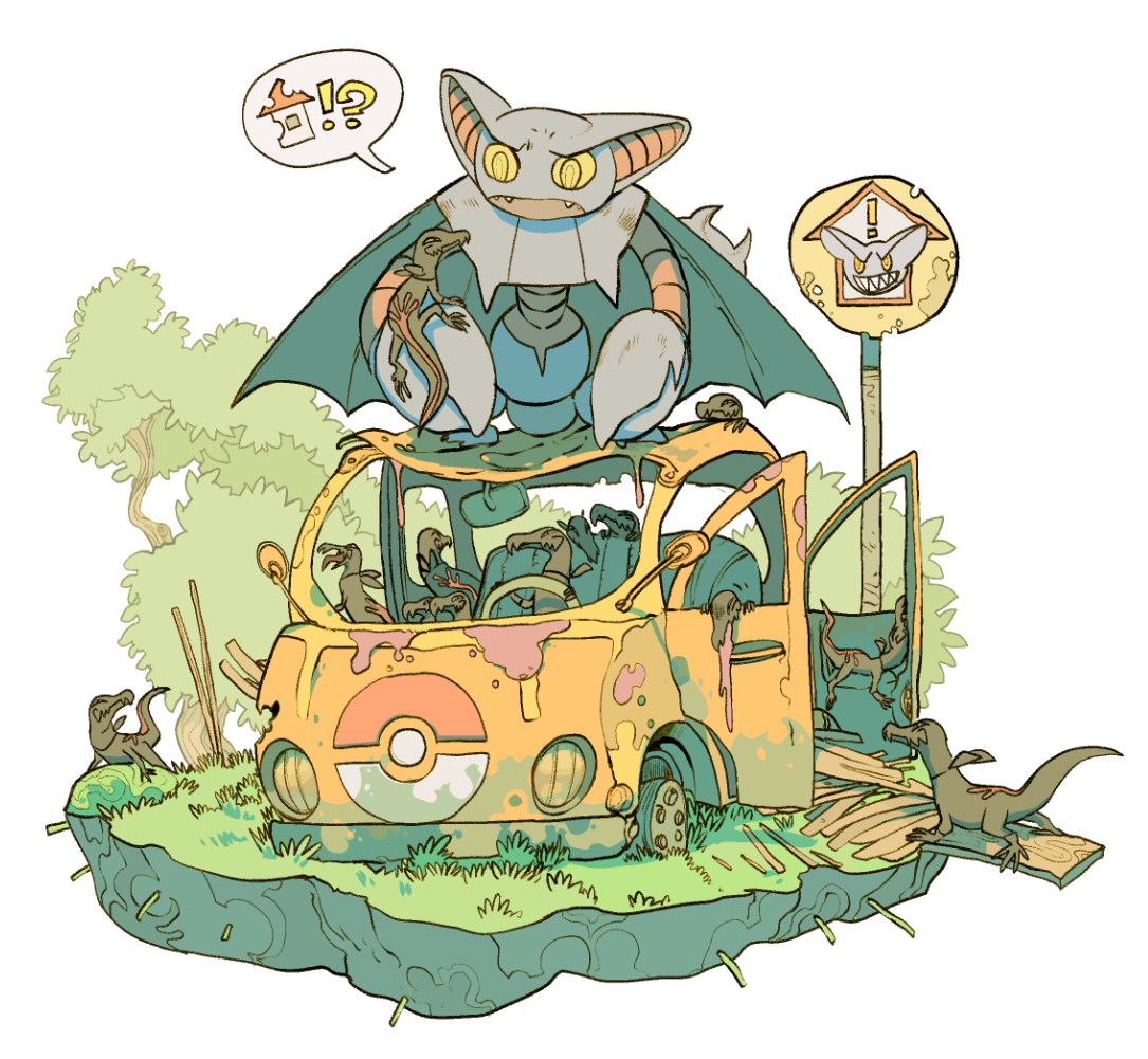 Gliscor and a mob of Salandit | Pokemon | Pinterest | Pokémon …