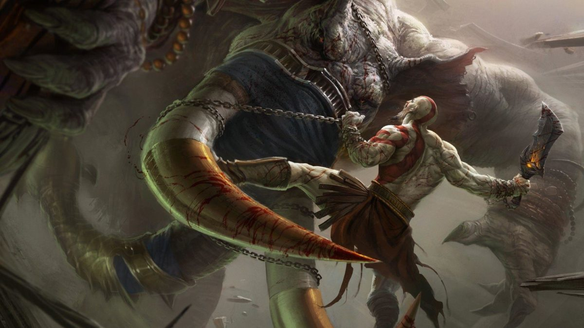 Wallpapers For > God Of War Ascension Ares Wallpaper