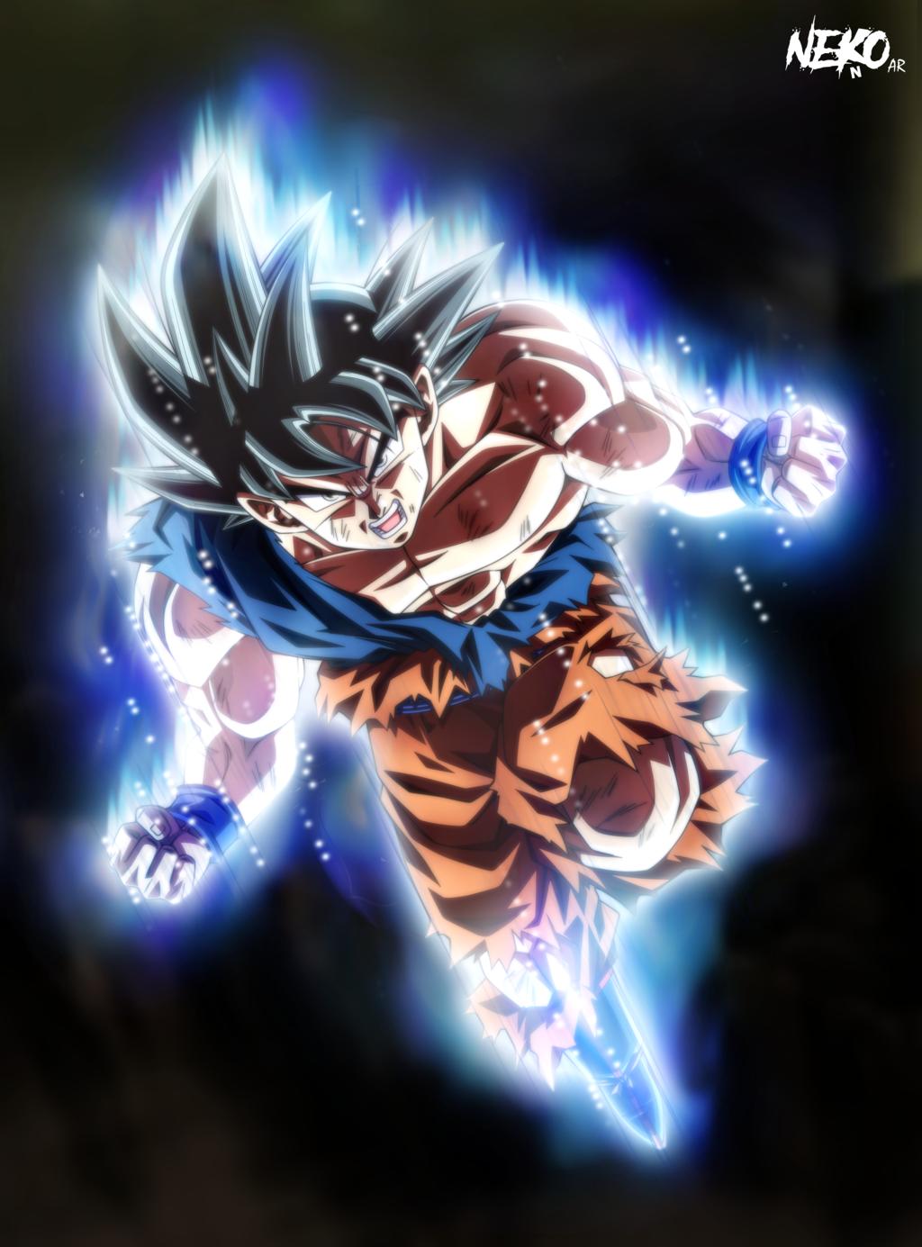 Ultra Instinct Goku wtf by NekoAR on DeviantArt