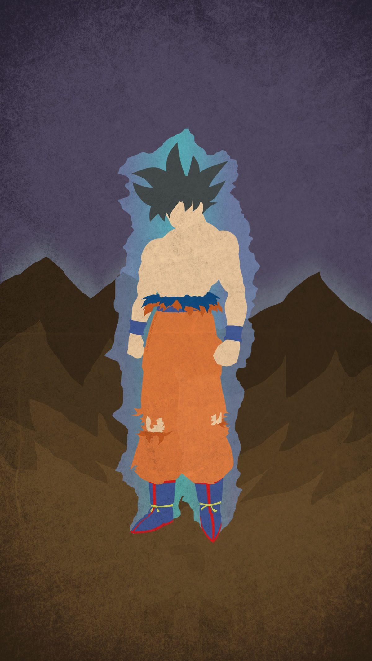 Ultra Instinct Goku Minimal Mobile Wallpaper – Imgur
