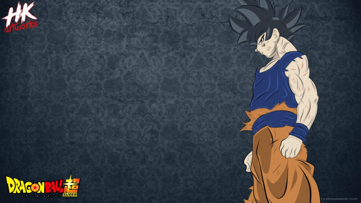 Goku Ultra Instinct Quick Drawing Wallpaper by Hkartworks99 on …