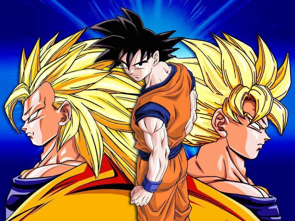 deviantART: More Like Goku SSJ4 and Vegeta SSJ4 by drozdoo