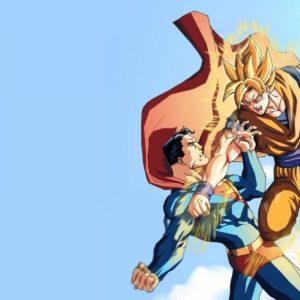 download Son Goku Super Saiyan Vs Superman Wallpaper #4708 | Frenzia.