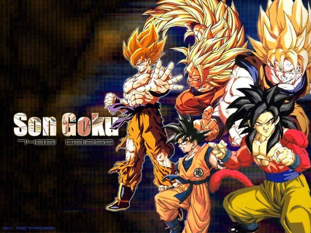 Goku Wallpaper by AlphaTigron on DeviantArt
