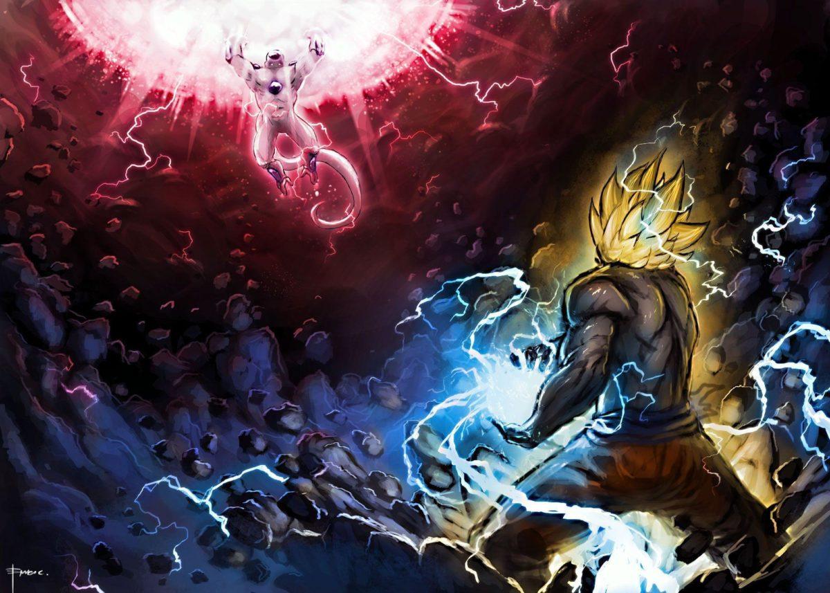 Goku Vs Frezee Wallpaper #1287 Wallpaper | WallscreenHD.