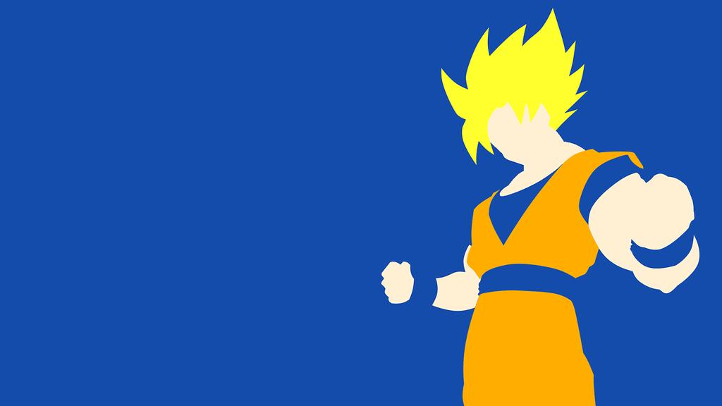 SSJ Goku wallpaper by Soki-n-Kat on DeviantArt