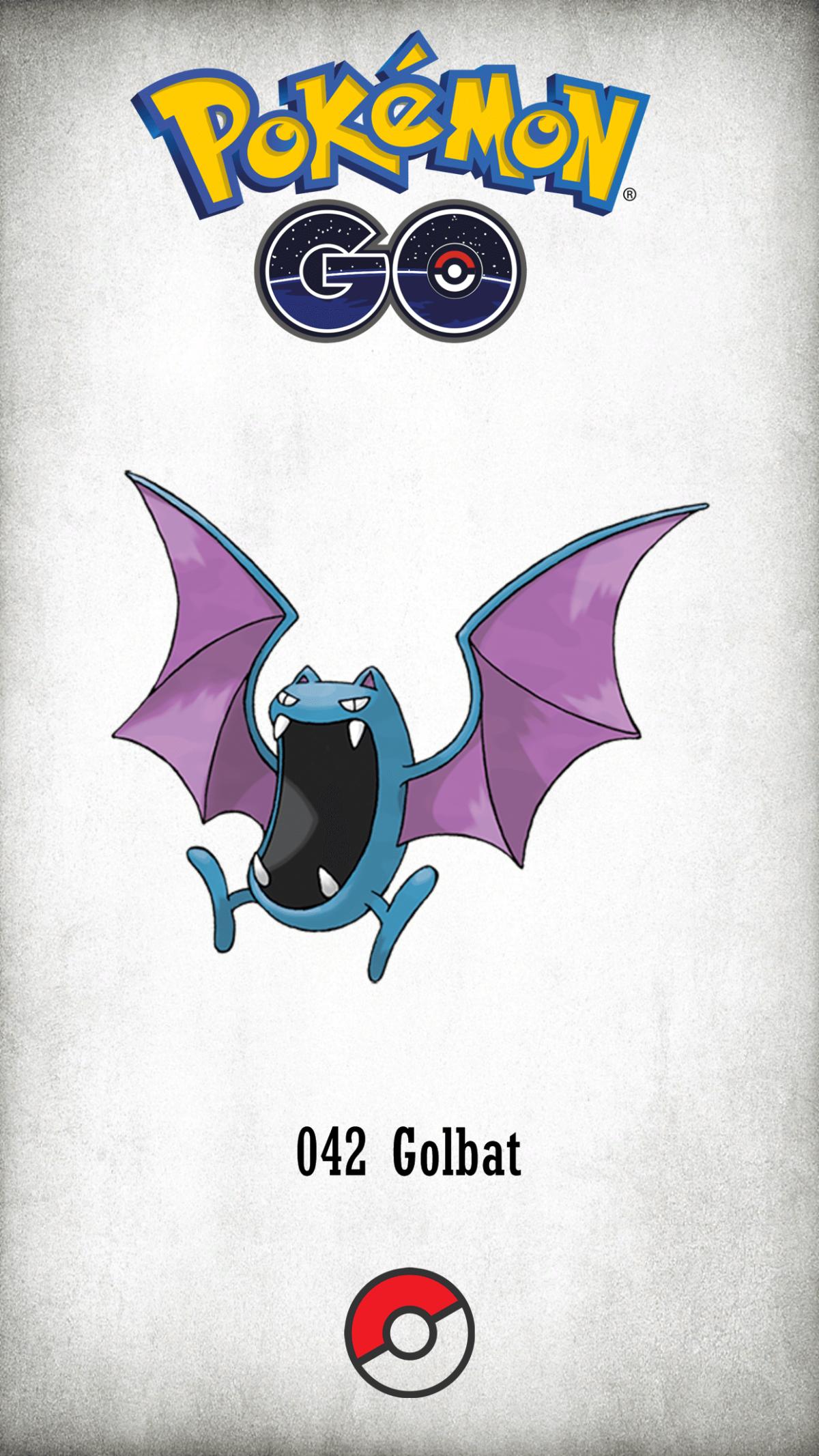 042 Character Golbat | Wallpaper