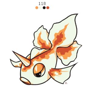 download 118. Goldeen by Rock-Bomber on DeviantArt
