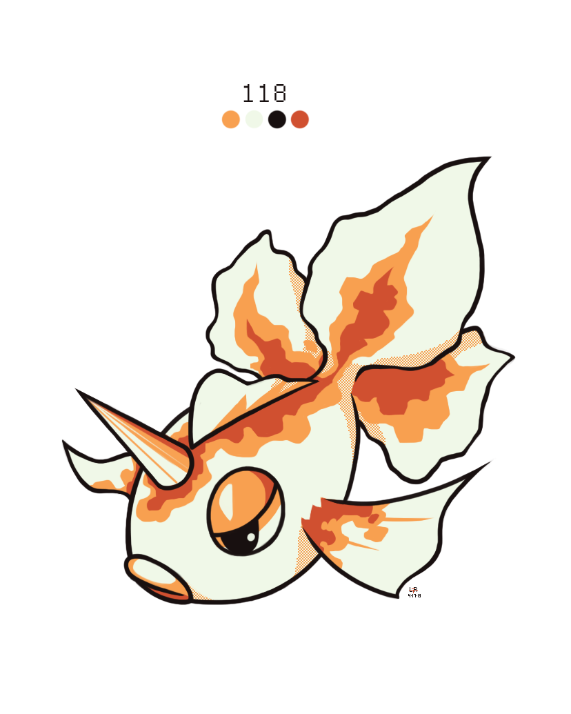 118. Goldeen by Rock-Bomber on DeviantArt
