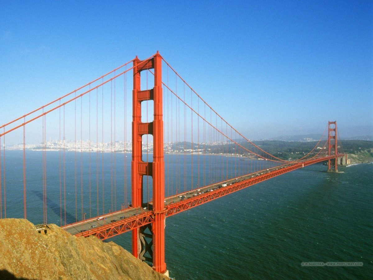 Golden gate Sanfrancisco Image Wallpaper For desktop taken from …