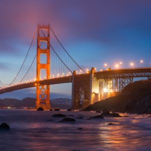 download The Golden Gate Bridge View from Marshall Beach widescreen …