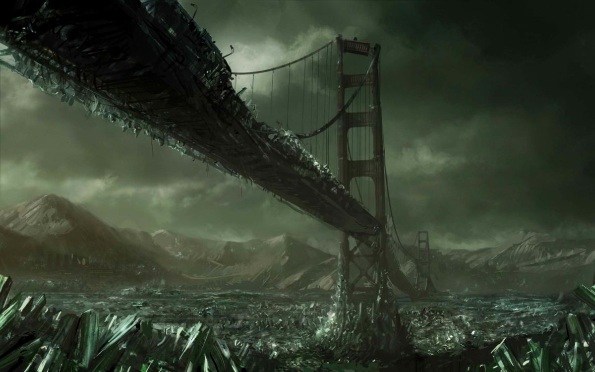 Ice Age, the Golden Gate Bridge | HD Wallpapers