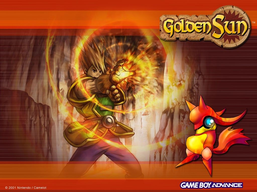 Golden Sun Wallpaper | Universe and All Planets Pictures