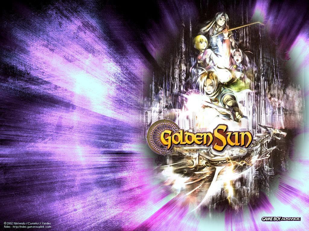 Golden Sun wallpapers 1024×768 desktop backgrounds