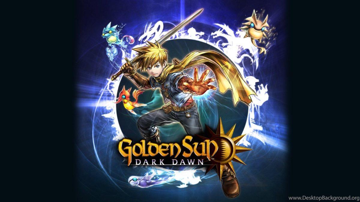 Picture For > Golden Sun Dark Dawn Wallpapers Desktop Background