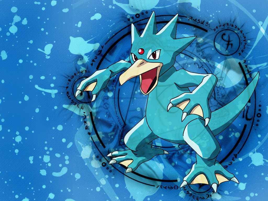 Golduck by kacza-ino on DeviantArt