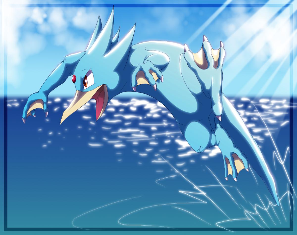 055: Golduck | POKEMON | Pinterest | Pokémon, Pokemon pokedex and …
