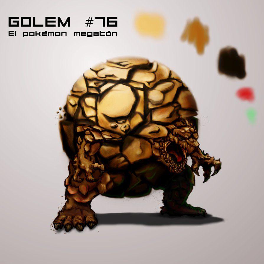 Pokemon Golem by zebraheads on DeviantArt