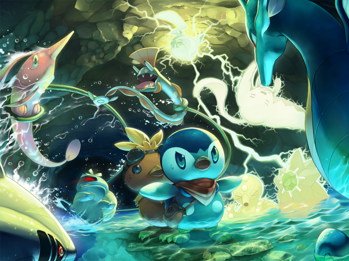 Pokémon Mystery Dungeon: Explorers of Sky Full HD Wallpaper and …