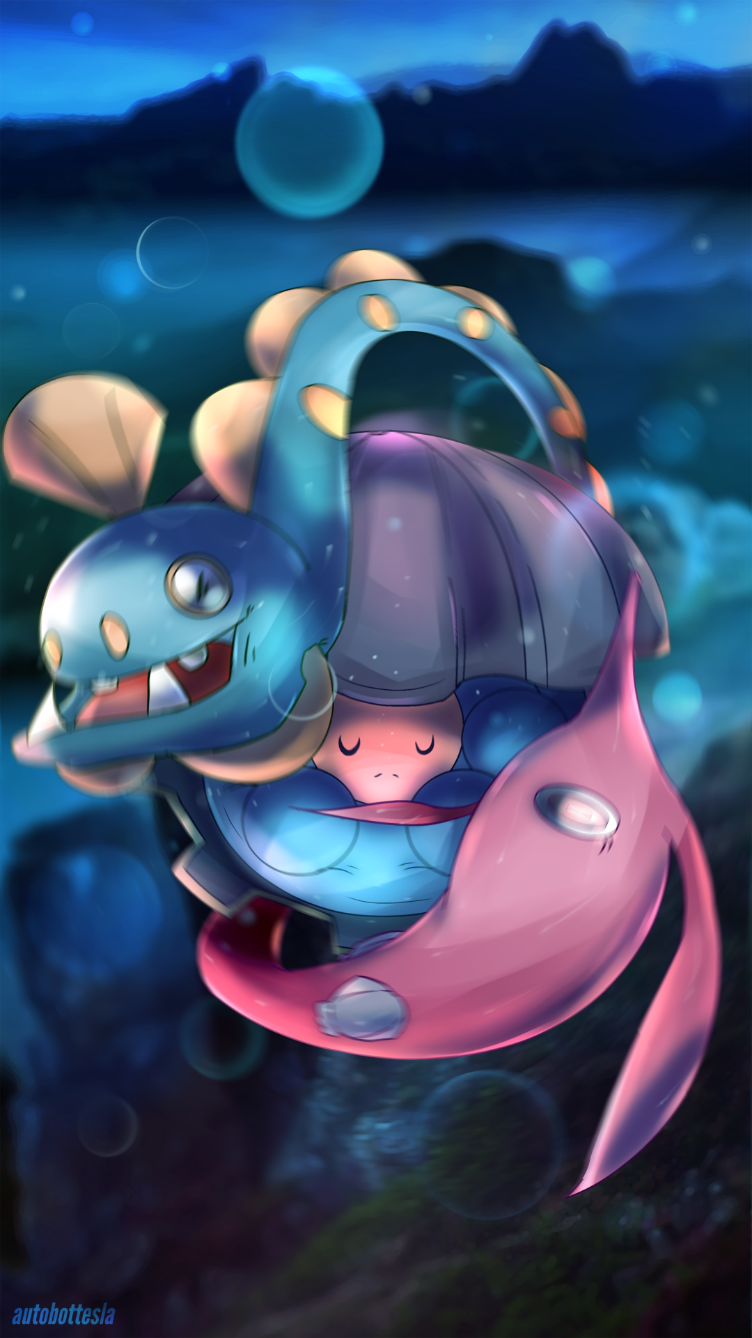 Clamperl & Gorebyss & Huntail | Pokémon | Pinterest | Pokémon