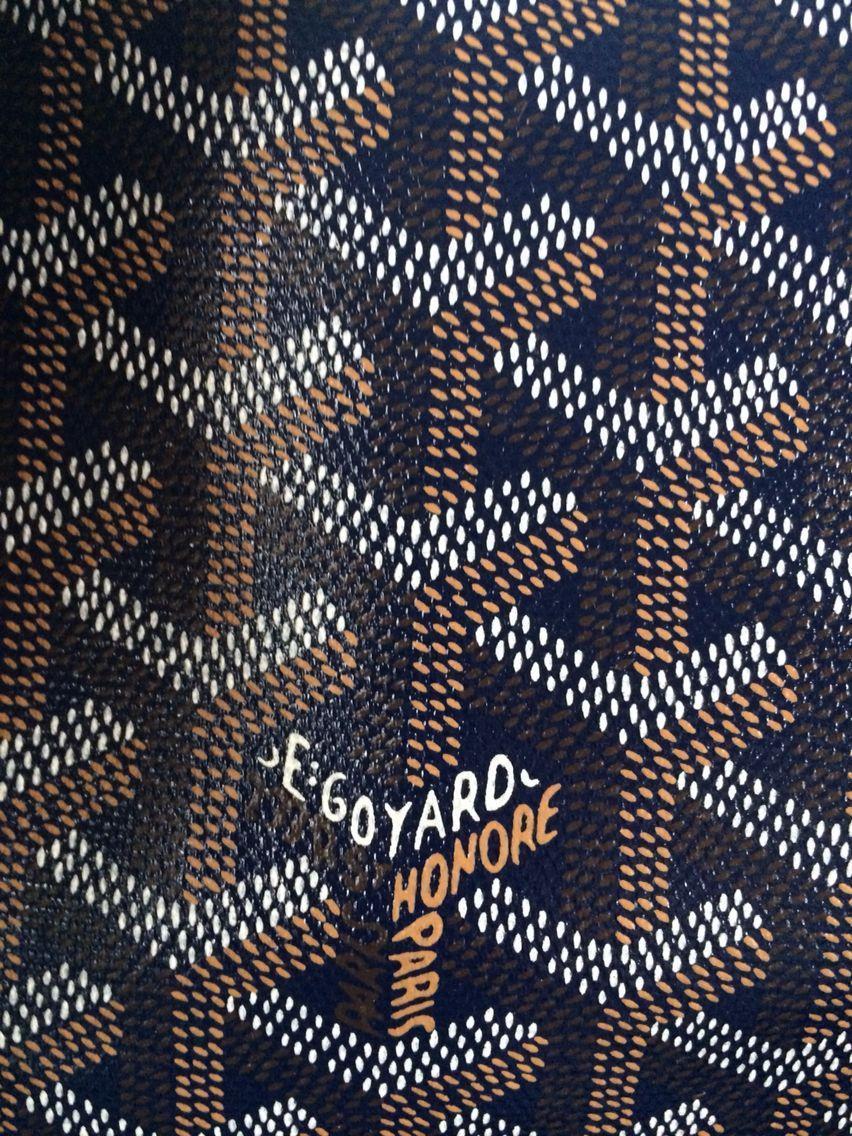 Homemade wallpaper #goyard #navygoyard #goyarddiaperbag …