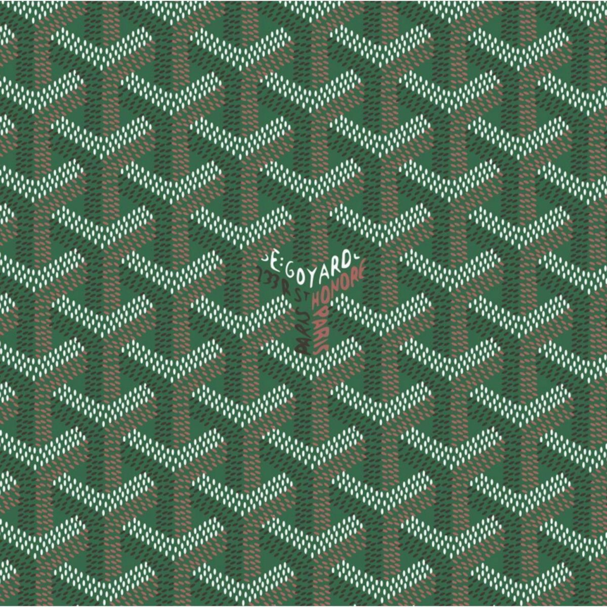 Green Goyard Pattern – Tap to see more goyard wallpapers! – @mobile9 …