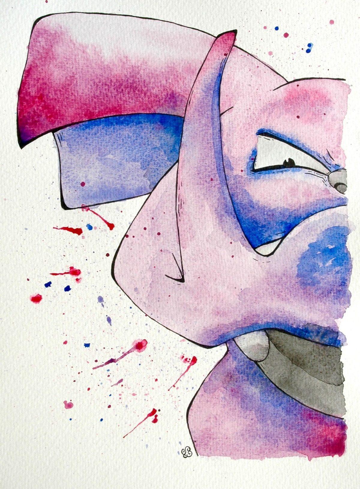 Granbull pokemon fan art https://www.behance.net/gallery/48218321 …