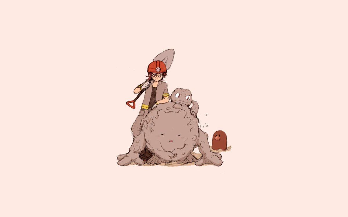 Graveler, Golem, pokemon :: Wallpapers