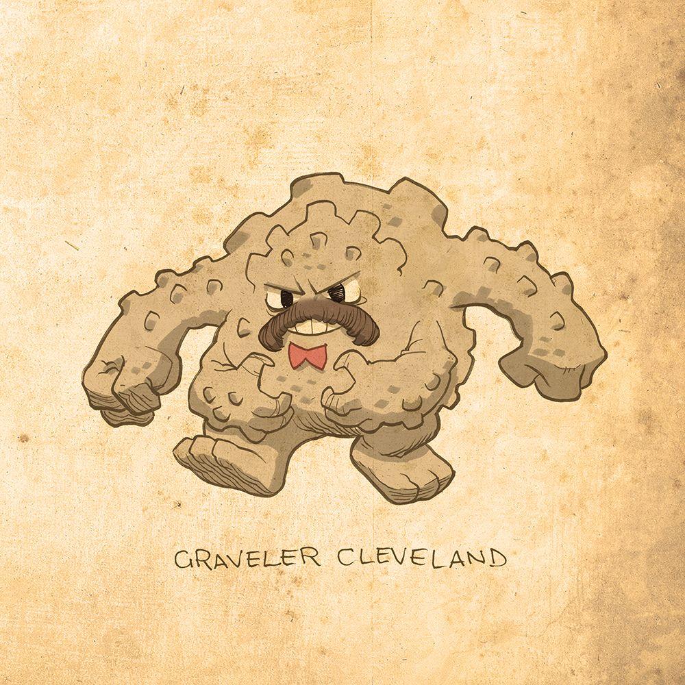 Graveler Cleveland by brandondayton on DeviantArt