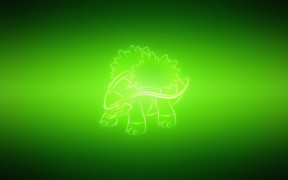 Download wallpaper 2560×1600 grotle, vector, green, pokemon hd …