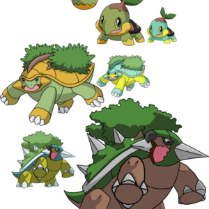 download 387, 388 and 389 – Turtwig Evolutionary Family by Tails19950 on …