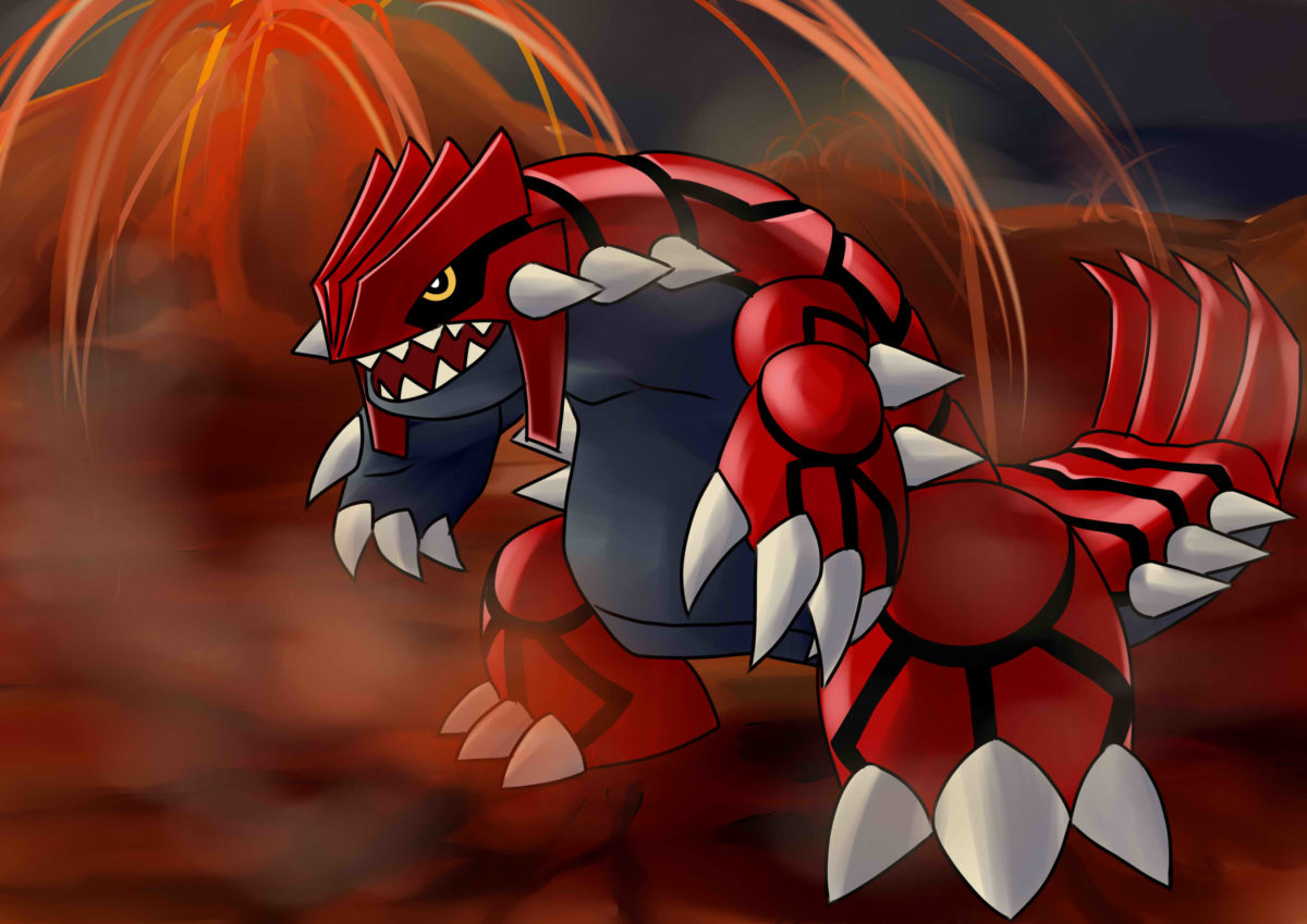 Wallpapers For > Groudon Wallpaper Hd
