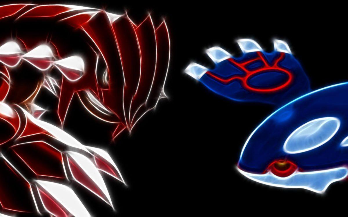 Groudon vs Kyogre – Pokemon wallpaper #