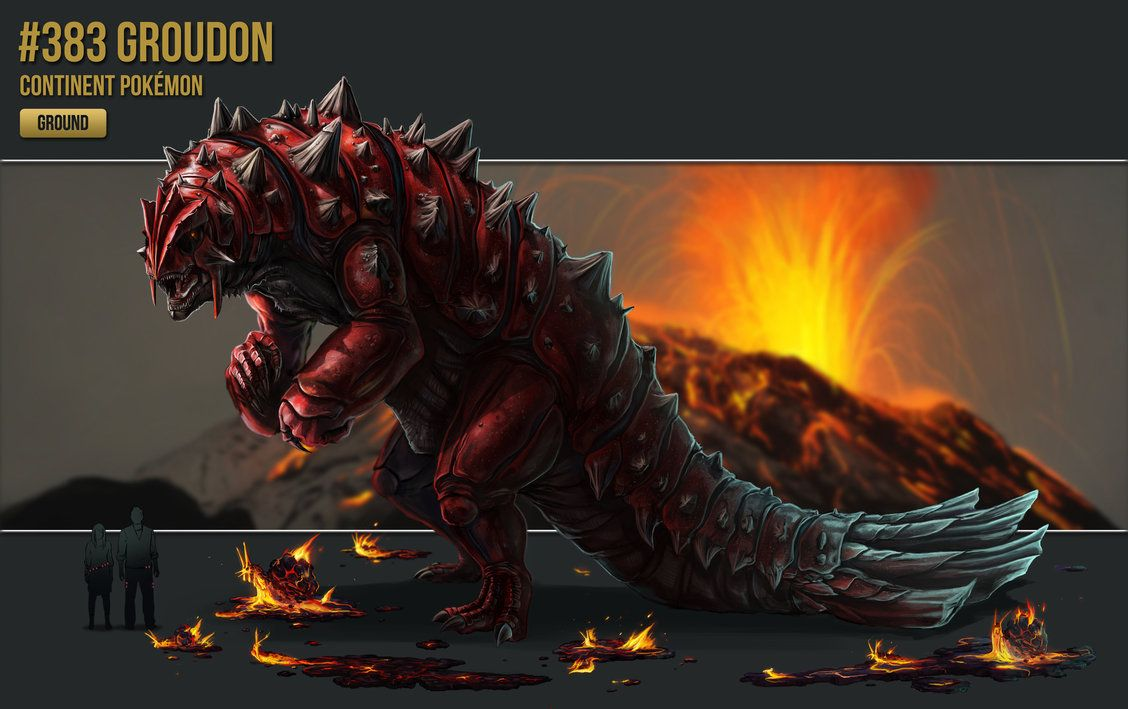 383 – Groudon by catandcrown on DeviantArt