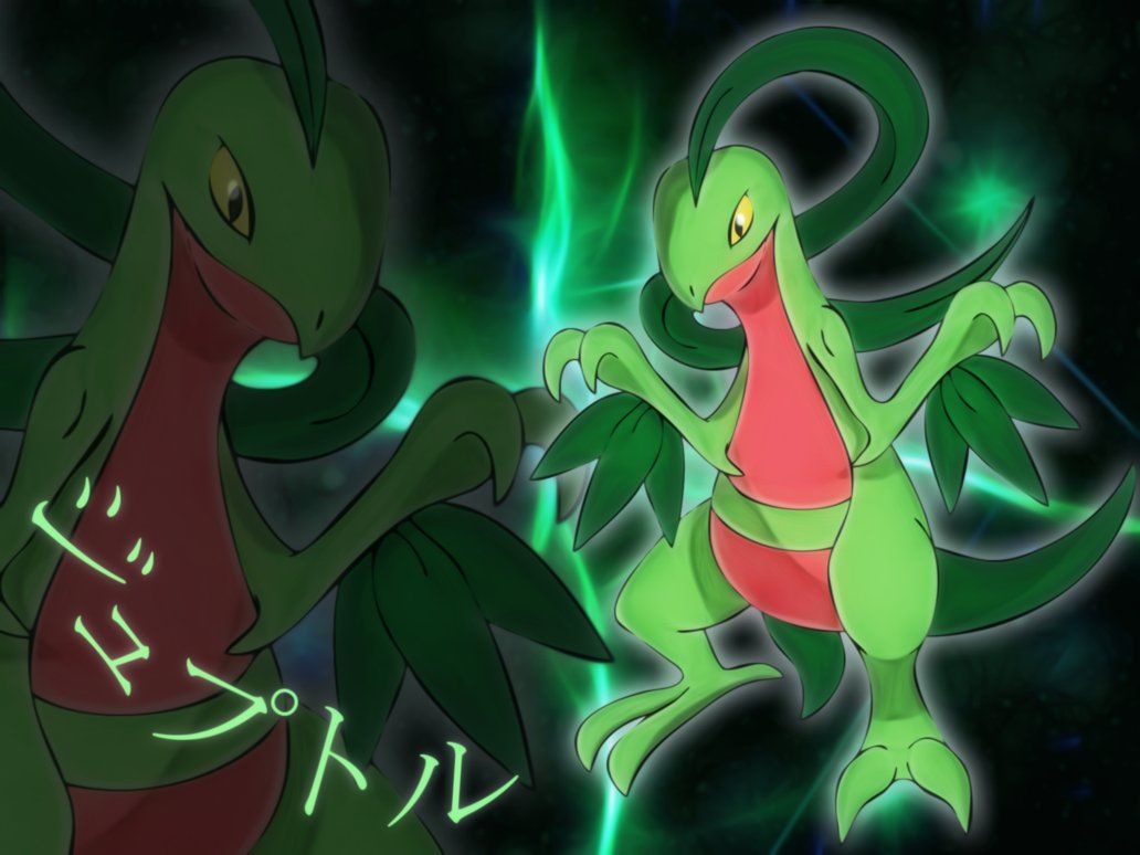 grovyle wallpaper by Elsdrake on DeviantArt