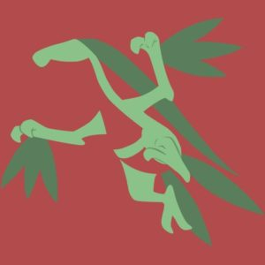 download Grovyle Minimalist Wallpaper by DamionMauville on DeviantArt