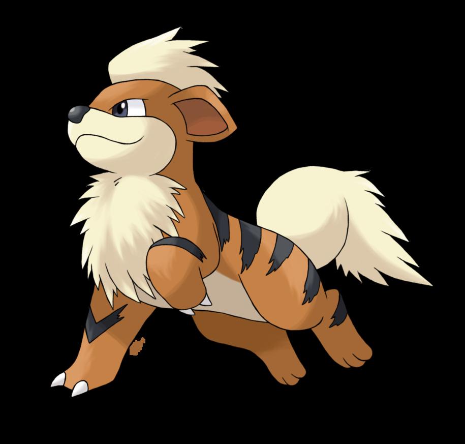 Caninos – Growlithe by AlouNea on DeviantArt