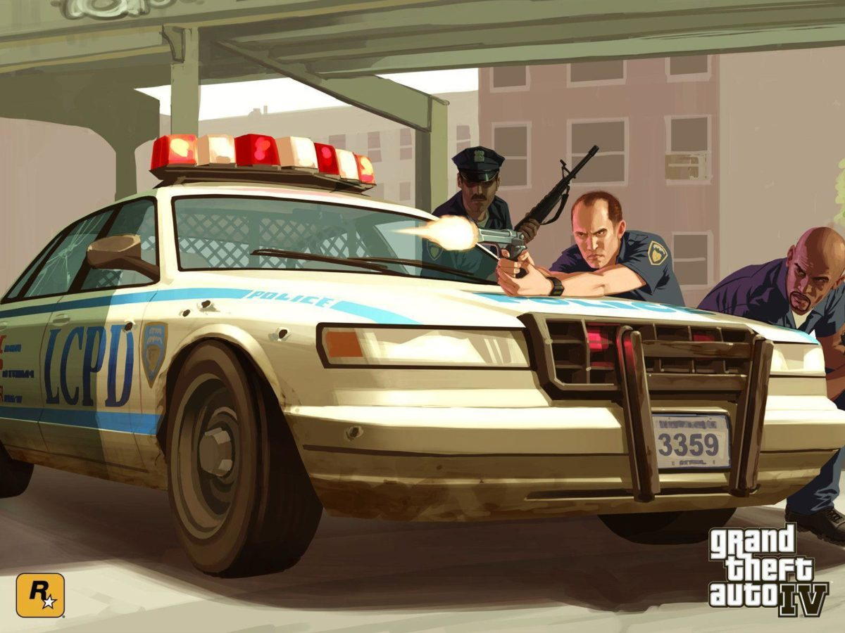 GTA 4 / Grand Theft Auto IV – Official IV Wallpapers – on GTA.