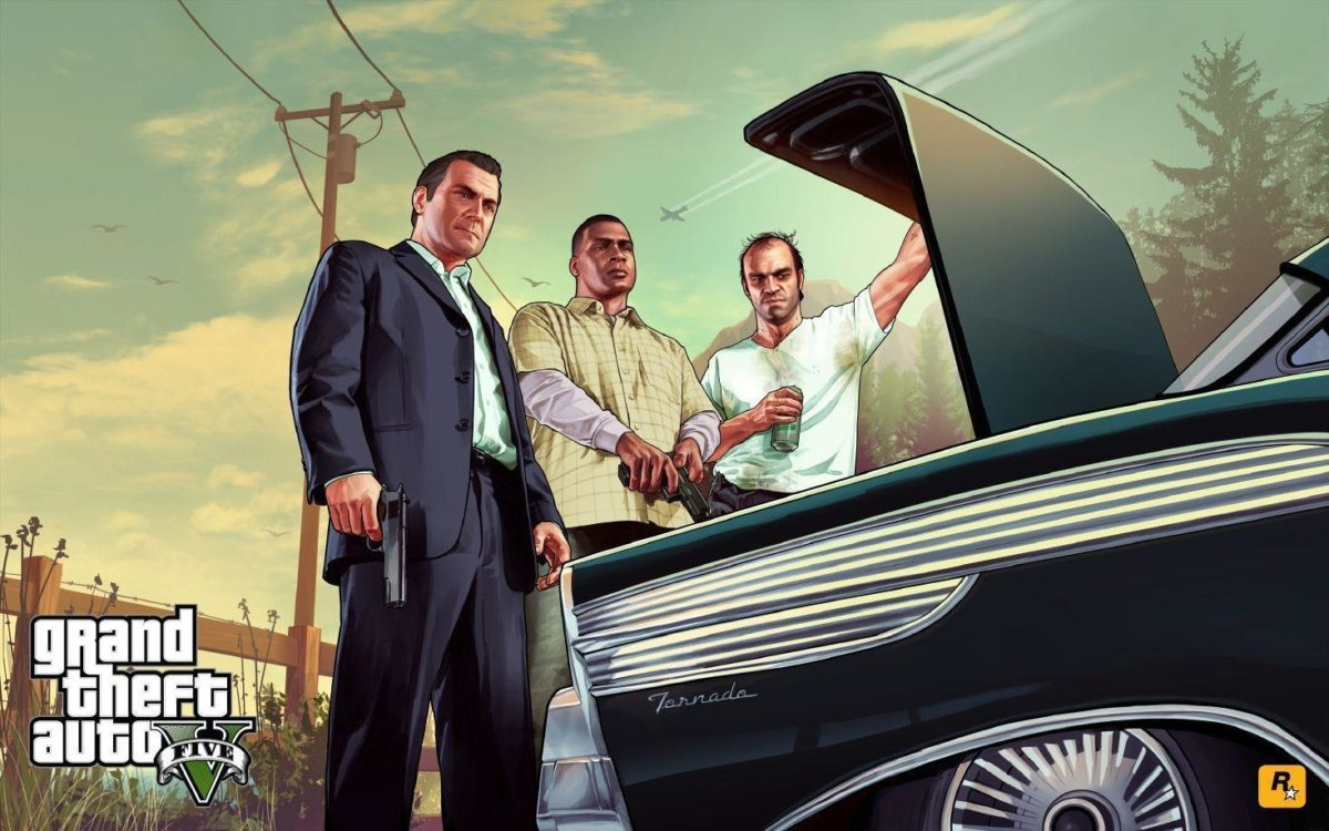 Rockstar release new GTA 5 wallpapers. Official cover revealed …