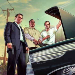 download Rockstar release new GTA 5 wallpapers. Official cover revealed …