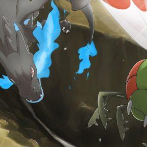download Pokemon Sky Battle: Mega Charizard X vs Yanmega by mark331 on DeviantArt