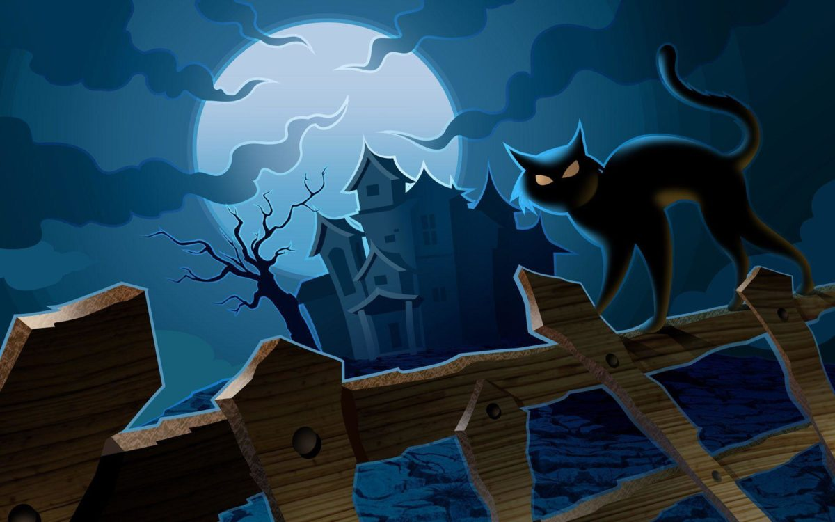 Scary Halloween 2012 HD Wallpapers | Pumpkins, Witches, Spider Web …