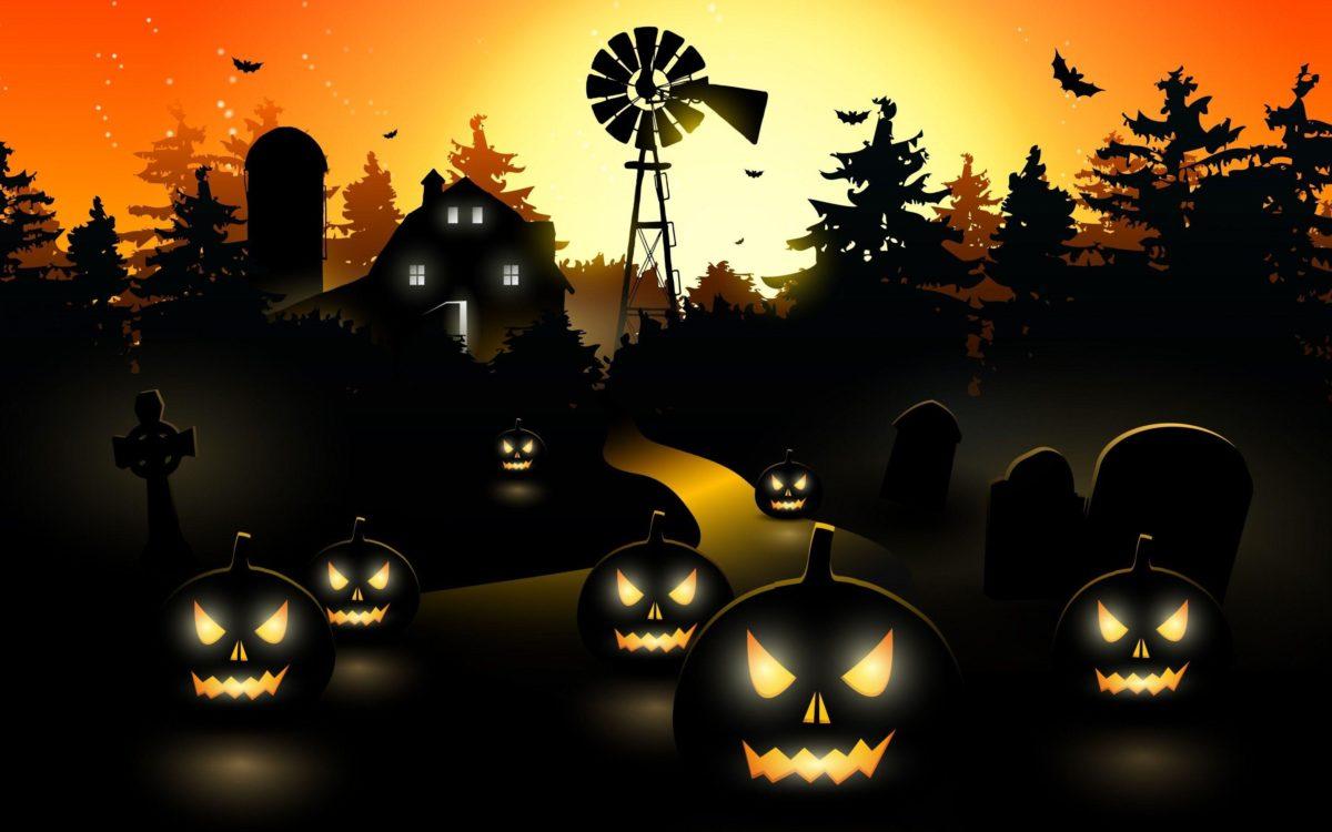 Scary Halloween Wallpaper – Dr. Odd