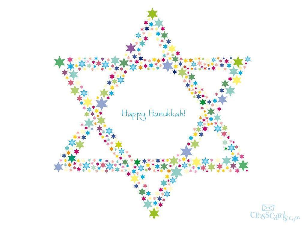 Happy Hanukkah Desktop Wallpaper – Free Winter Computer and Mobile …